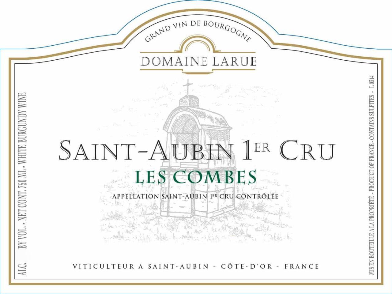 Domaine Larue St. Aubin Les Combes 2017
