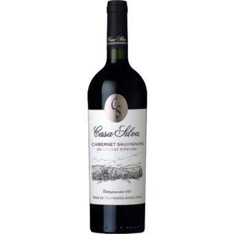 Bottle shot for 2018 Casa Silva Los Lingues Cabernet Sauvignon