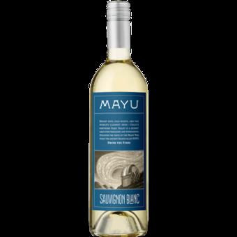 Bottle shot for 2019 Vina Mayu Sauvignon Blanc