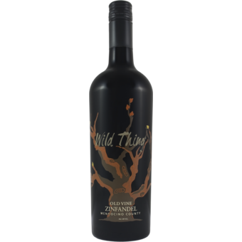 Bottle shot for 2017 Carol Shelton Wild Thing Zinfandel