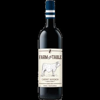 Bottle shot for 2017 Farm To Table Cabernet Sauvignon