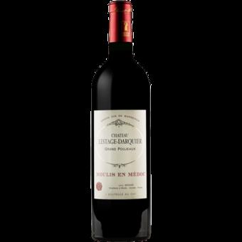 Bottle shot for 2016 Chateau Lestage Darquier Moulis En Medoc