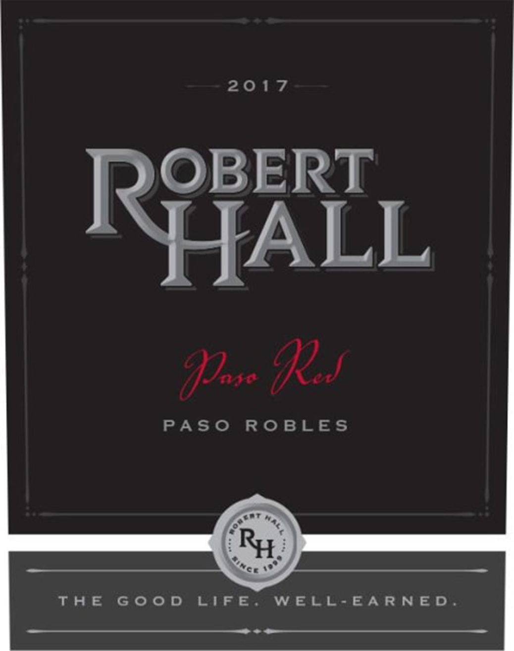 """""""Robert Hall """"""""Paso Red"""""""" Paso Robles 2017"""""""