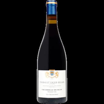 Bottle shot for 2017 Thibault Liger Belair Chambolle Musigny 1er Cru Les Gruenchers
