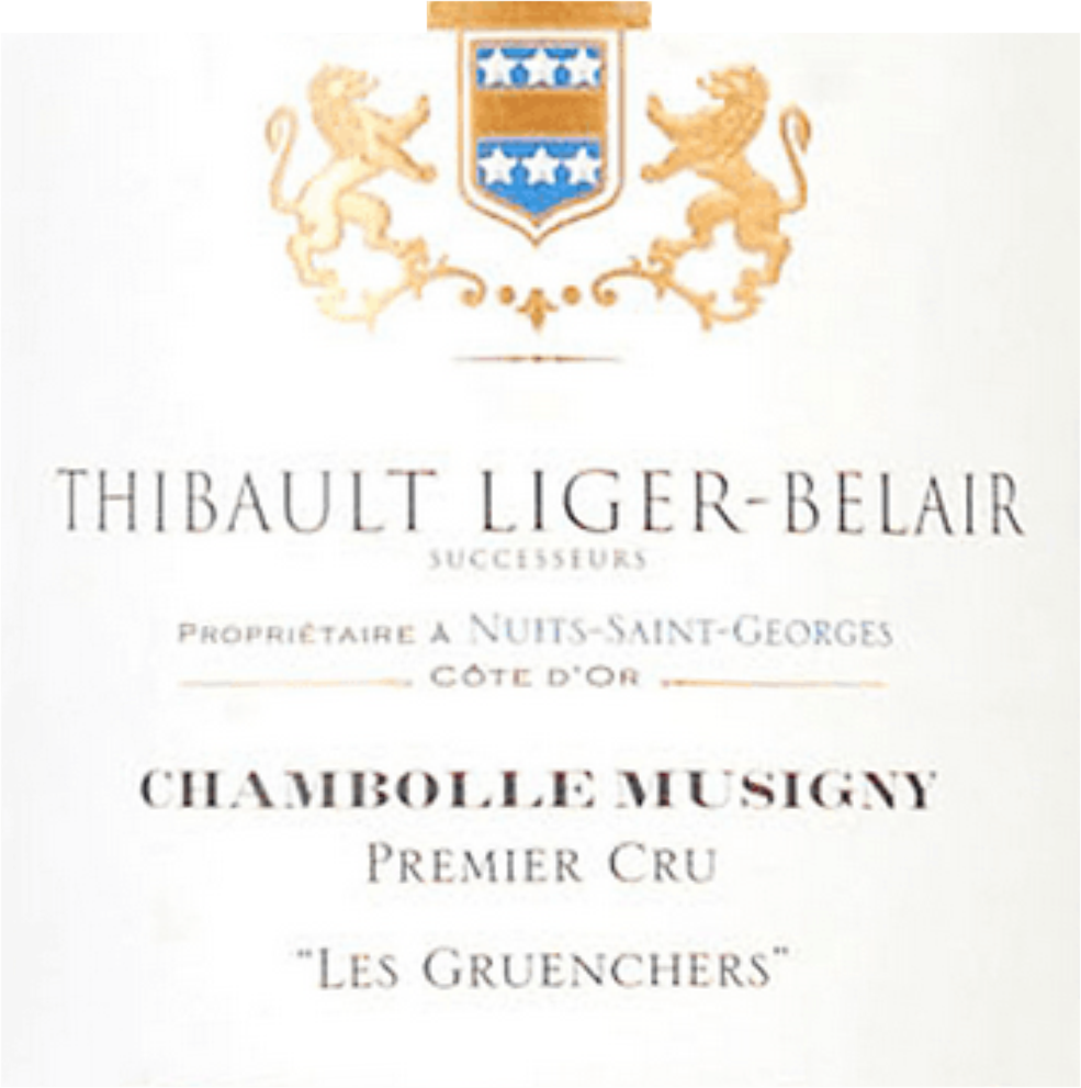 Thibault Liger Belair Chambolle Musigny 1er Cru Les Gruenchers 2017