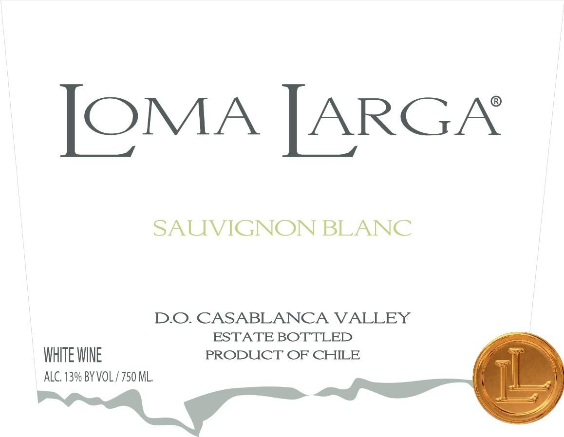 Lomas Del Valle Sauvignon Blanc Coastal Cool Climate Single Vineyard 2019