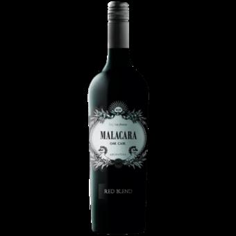 Bottle shot for 2016 Malacara Oak Cask Red Blend