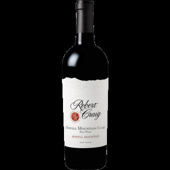 Bottle shot for 2018 Robert Craig Howell Mountain Cuvee Red