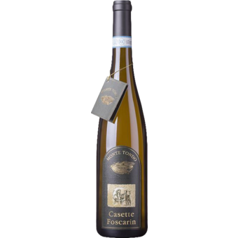 Bottle shot for 2017 Monte Tondo Soave Casette Foscarin