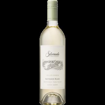 Bottle shot for 2018 Silverado Sauvignon Blanc Miller Ranch