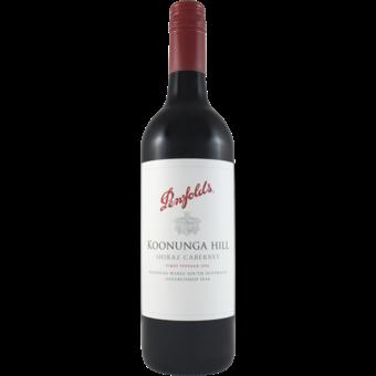 Bottle shot for 2018 Penfolds Koonunga Hills Shiraz/Cabernet