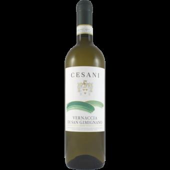Bottle shot for 2019 Cesani Vernaccia Di San Gimignano