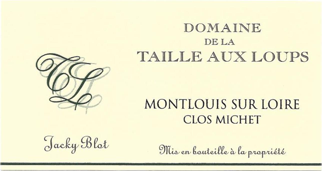Domaine De Taille Aux Loups Montlouis Sec Clos Michet 2018