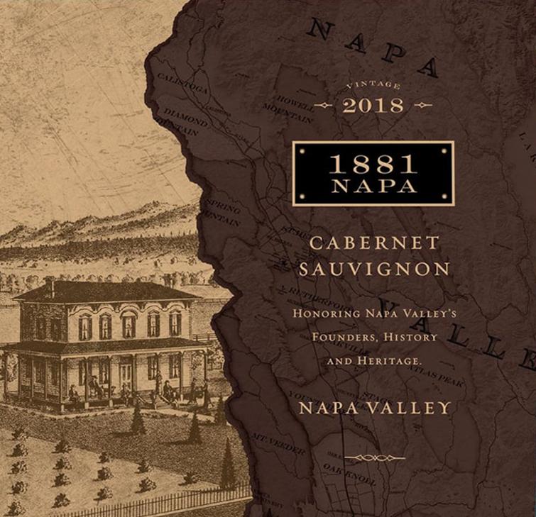 1881 Napa Valley Cabernet Sauvignon 2018