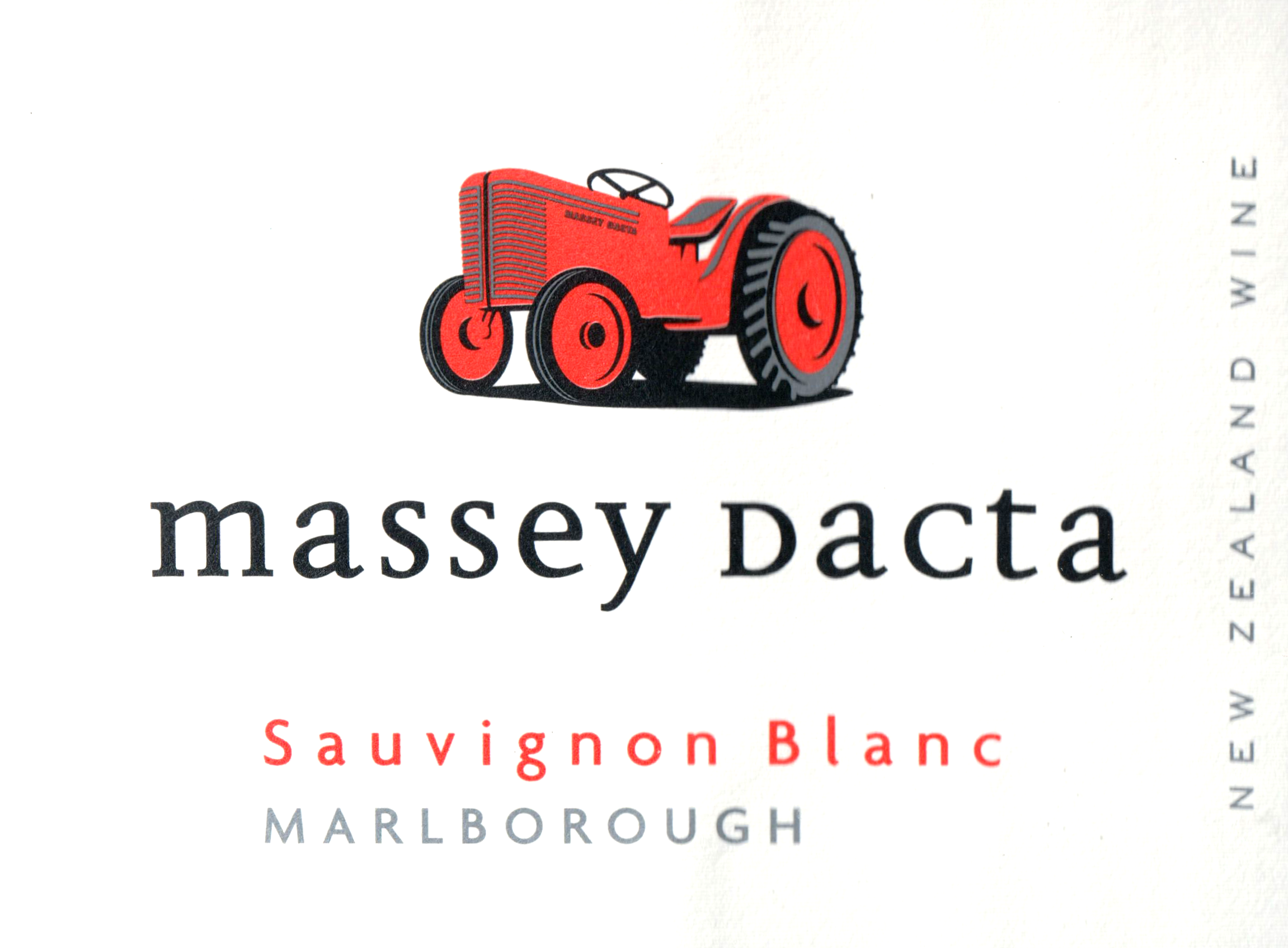 Massey Dacta Sauvignon Blanc 2019