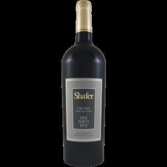 Bottle shot for 2017 Shafer Cabernet Sauvignon One Point Five