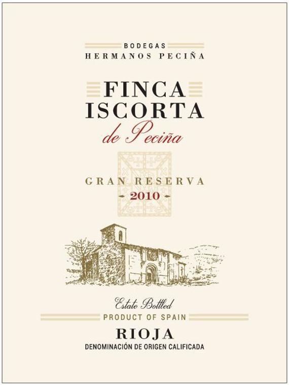 Hermanos De Pecina Senorio Gran Reserva Rioja 2010