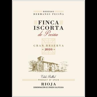 Label shot for 2010 Hermanos De Pecina Senorio Gran Reserva Rioja