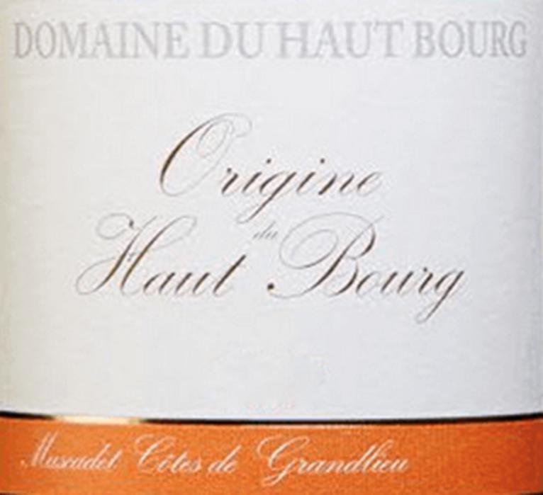 Haut Bourg Muscadet Origine 2009