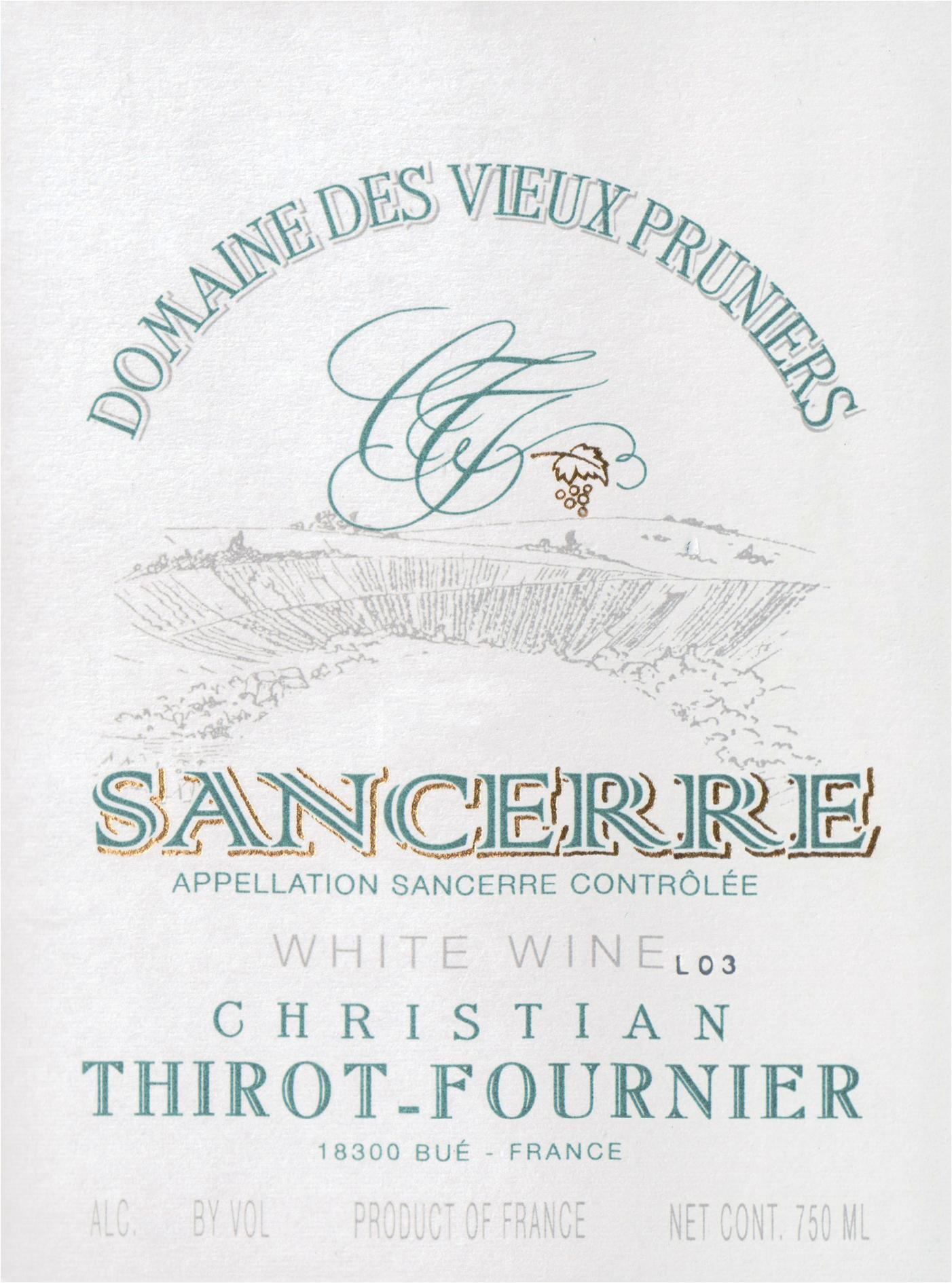 Vieux Pruniers Sancerre 2019