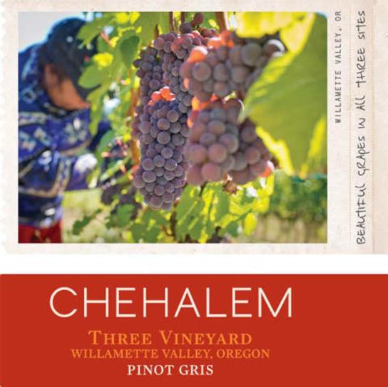 Chehalem Pinot Gris Three Vineyards 2017