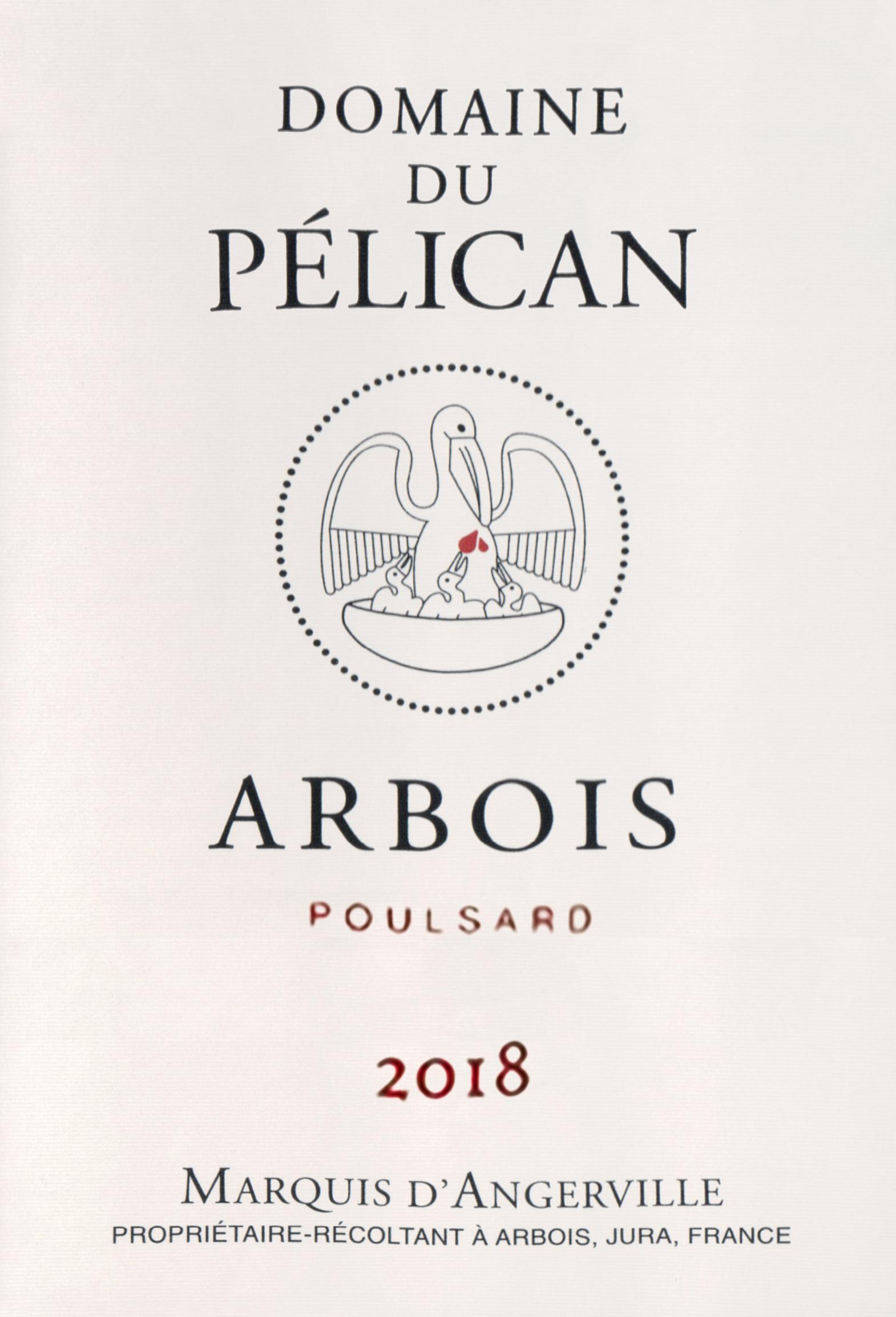 Domaine Du Pelican Arbois Poulsard 2018