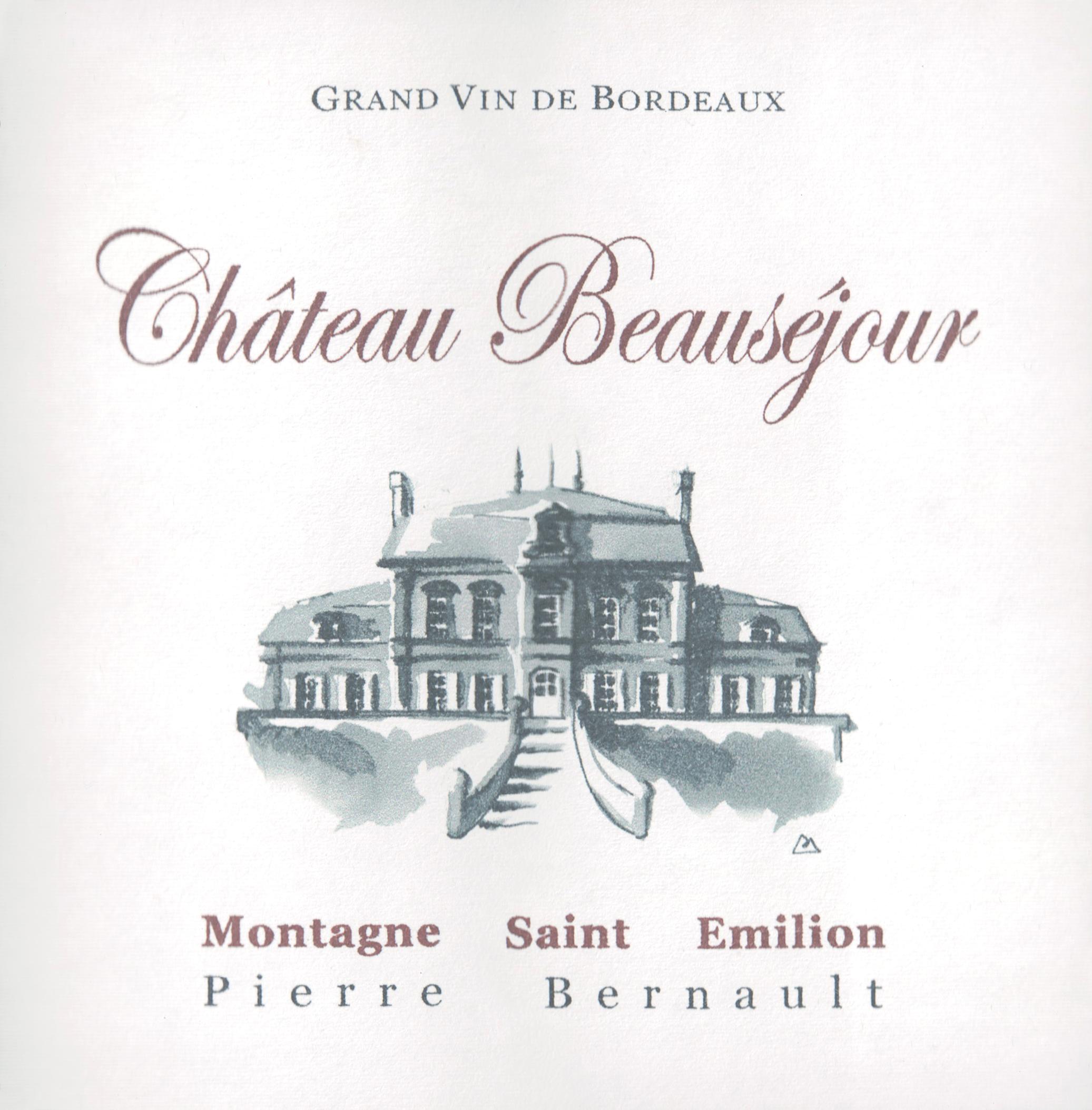 """Chateau Beausejour Montagne """"Beausejour"""" 2012"""