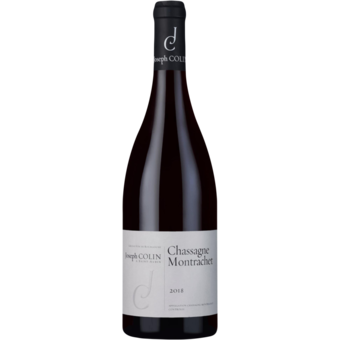 Bottle shot for 2018 Joseph Colin Chassagne Montrachet