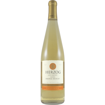 Bottle shot for 2019 Baron Herzog Orange Muscat