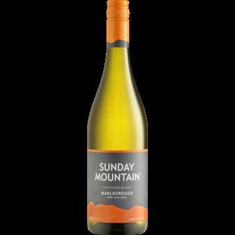 Bottle shot for 2019 Sunday Mountain Sauvignon Blanc