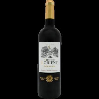 Bottle shot for 2018 Chateau Lorient