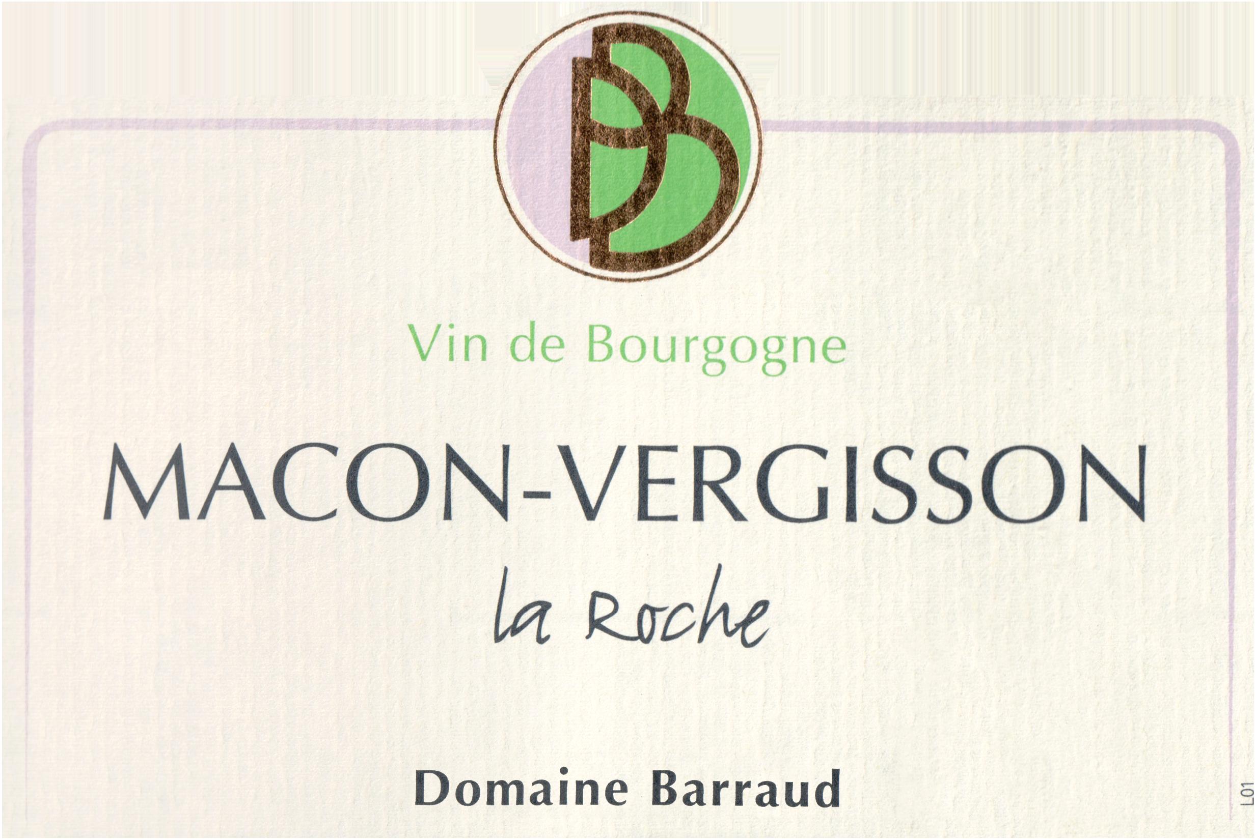Daniel & Julien Barraud Macon Vergisson La Roche 2018