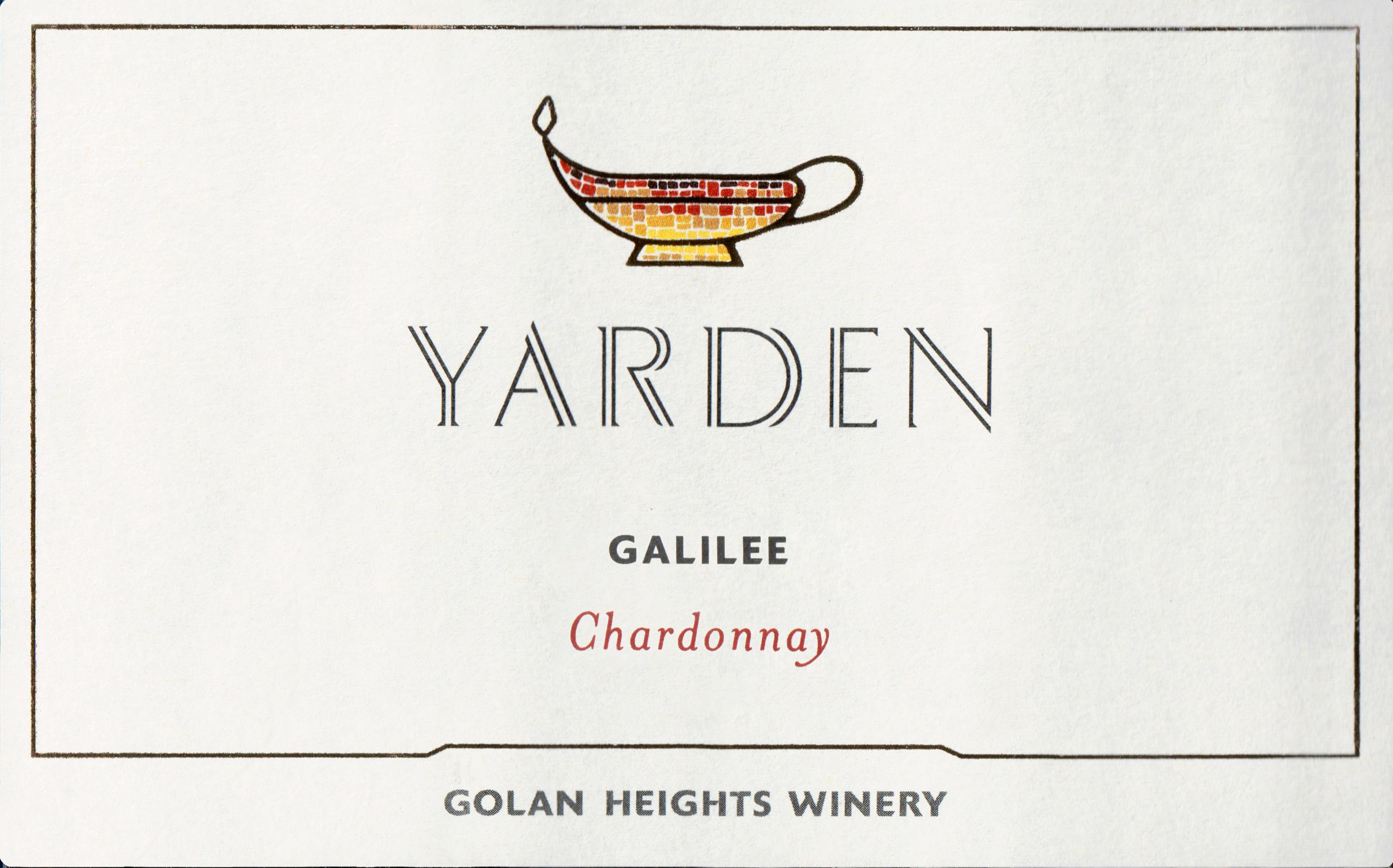 Yarden Chardonnay Northern Golan 2018