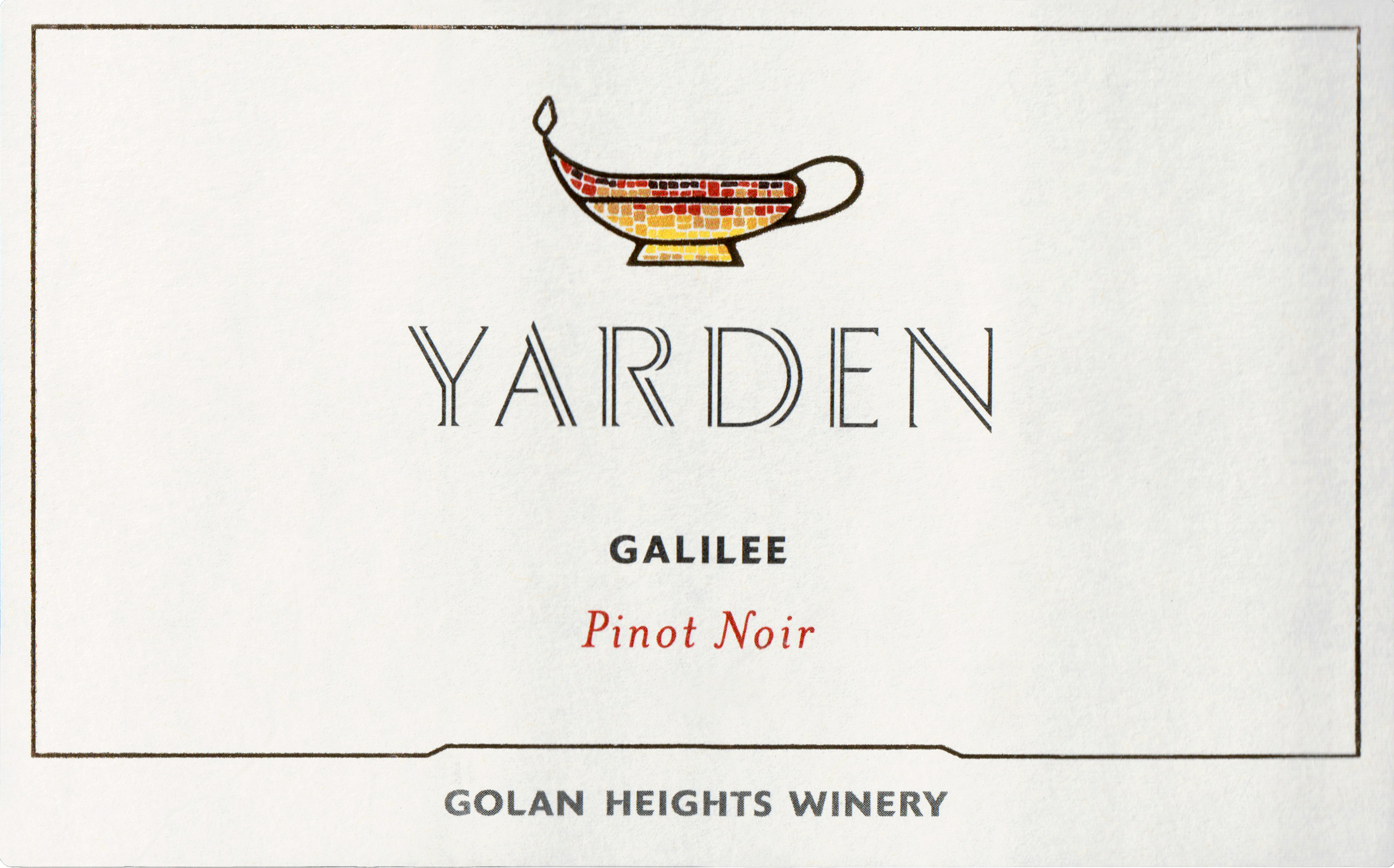 Yarden Pinot Noir Northern Golan 2017