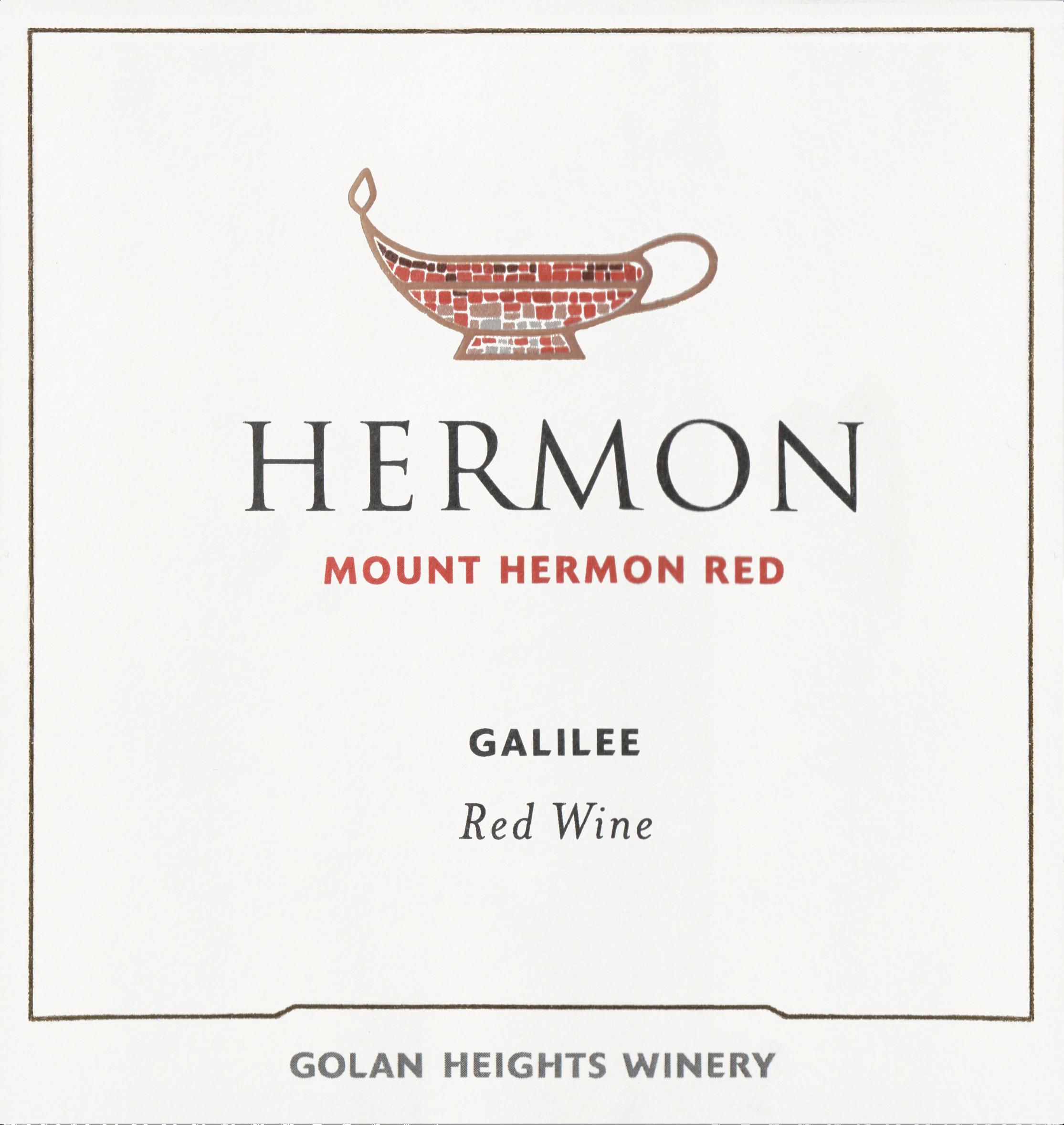 Yarden Mount Hermon Red Northern Golan 2019