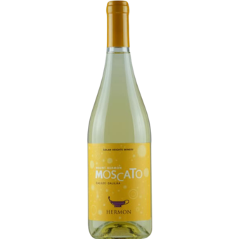 Bottle shot for 2019 Golan Heights Mount Hermon Moscato