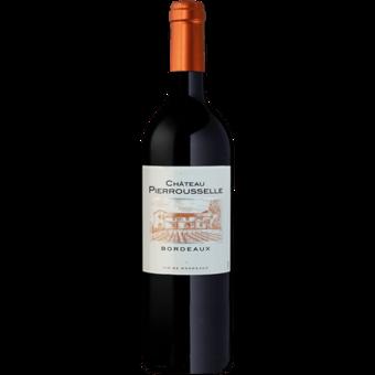 Bottle shot for 2018 Chateau Pierrousselle Bordeaux