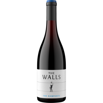 Bottle shot for 2015 The Walls Ramparts Red