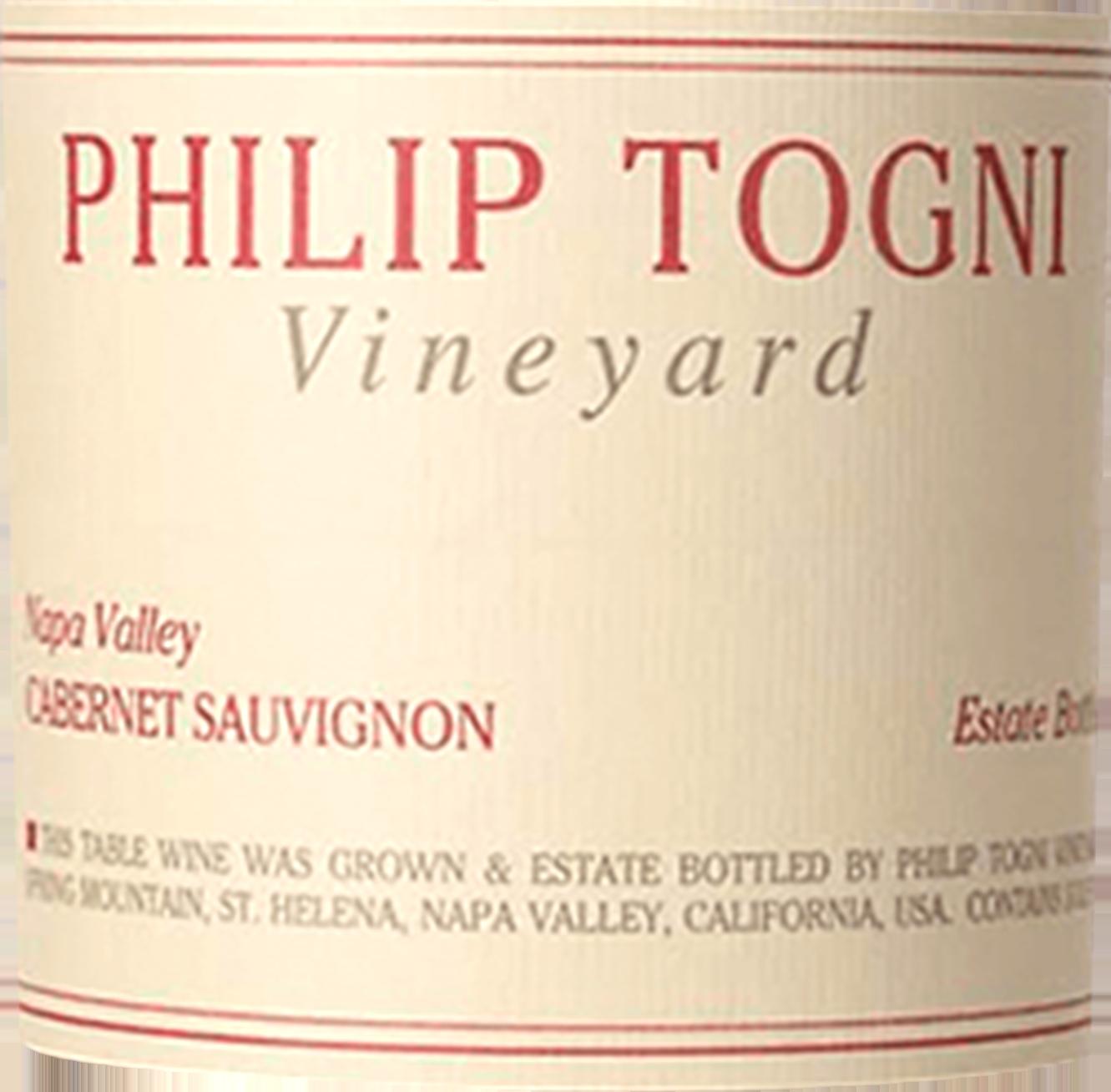 Philip Togni Estate Cabernet Sauvignon Spring Mountain 2016