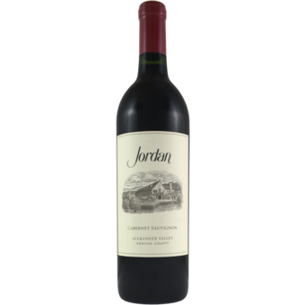 Bottle shot for 2016 Jordan Cabernet Sauvignon
