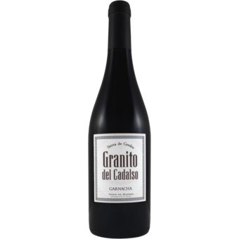 Bottle shot for 2017 Granito Del Cadalso Vinos De Madrid