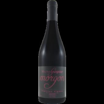 Bottle shot for 2019 Michel Guignier Morgon Vieilles Vignes