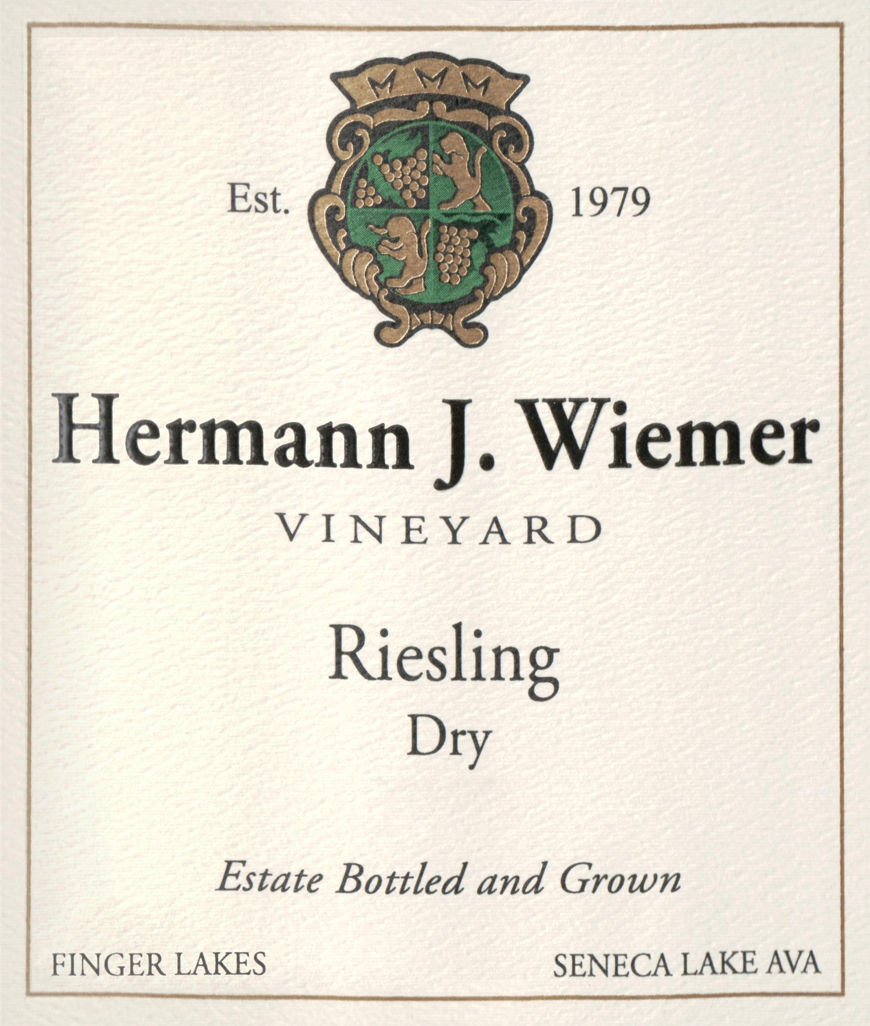Hermann Wiemer Dry Riesling 2019