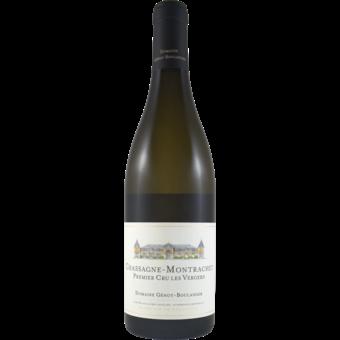 Bottle shot for 2017 Genot Boulanger Chassagne Montrachet Les Vergers 1er Cru