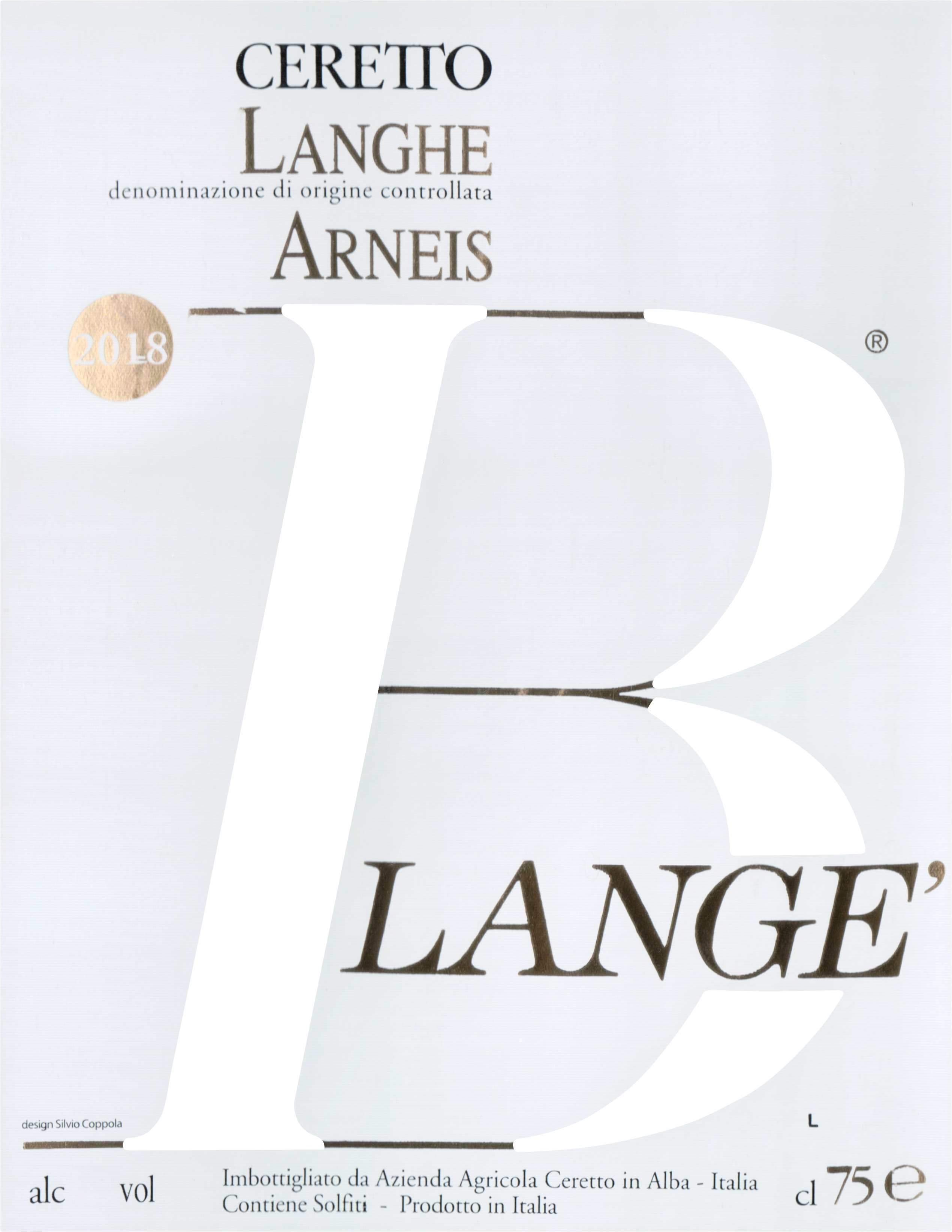 Ceretto Blange Arneis 2019