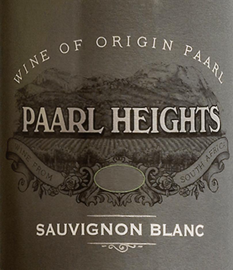 Paarl Heights Sauvignon Blanc 2019