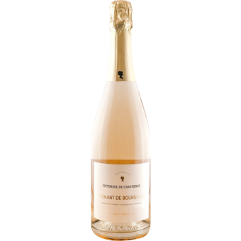 Bottle shot for  Victorine De Chastenay Rose Brut Cremant De Bourgogne