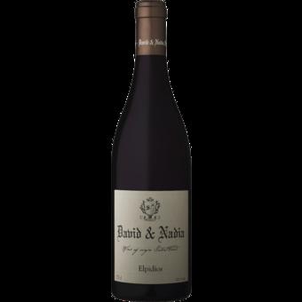 Bottle shot for 2014 David Nadia Sadie Elpidios Swartland