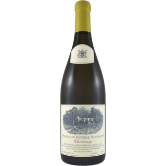 Bottle shot for 2019 Hamilton Russell Vineyards Chardonnay