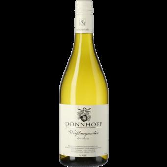 Bottle shot for 2018 Donnhoff Weissburgunder Trocken